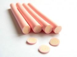 Swiss roll cane - pink