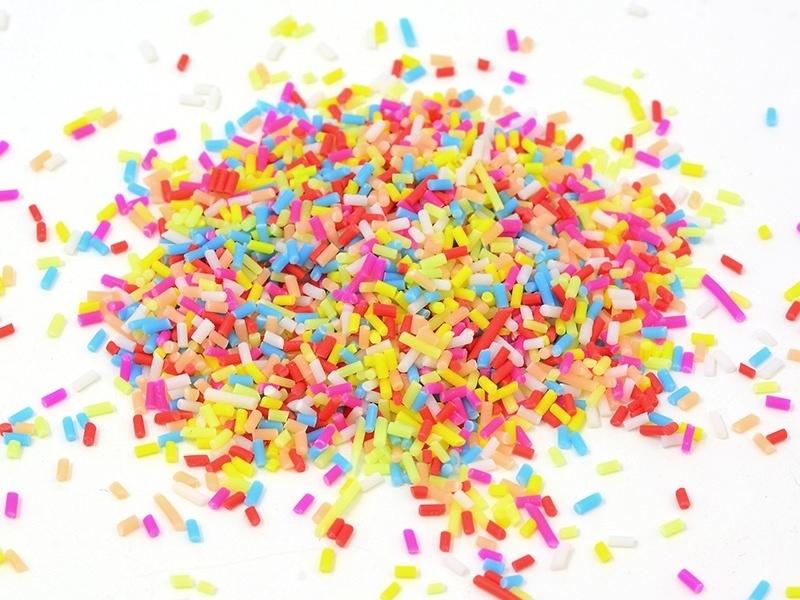 Sprinkles - flashy colours