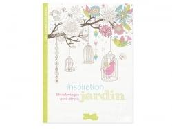 Livre Inspiration jardin, 50 coloriages anti-stress Dessain et Tolra - 1