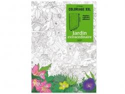 """XXL-Poster zum Ausmalen - """"Jardin extraordinaire"""""""