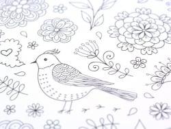 Livre Inspiration jardin, 50 coloriages anti-stress