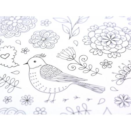 Acheter Livre Inspiration jardin, 50 coloriages anti-stress - 4,99€ en ligne sur La Petite Epicerie - Loisirs créatifs