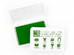 All-purpose stamp ink pad - green