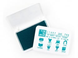 Encreur tous supports - Turquoise