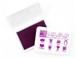 All-purpose stamp ink pad - purple