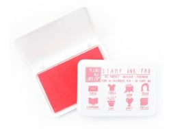 All-purpose stamp ink pad - pink