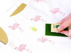 Stempelkissen für alle Oberflächen - rosa