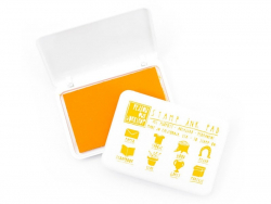 All-purpose stamp ink pad - yellow