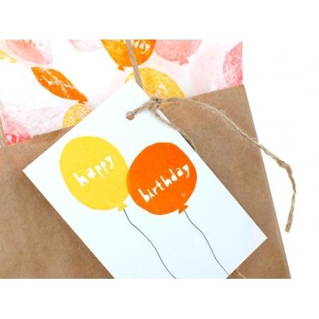 """Tampon ballon """"happy"""" + Tampon ballon """"birthday"""" Yellow Owl Workshop - 3"""