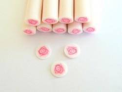 Acheter Cane rose en pâte polymère  - 0,99€ en ligne sur La Petite Epicerie - 100% Loisirs créatifs