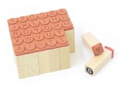 Stempel mit eingekreisten Großbuchstaben - 30 Zeichen