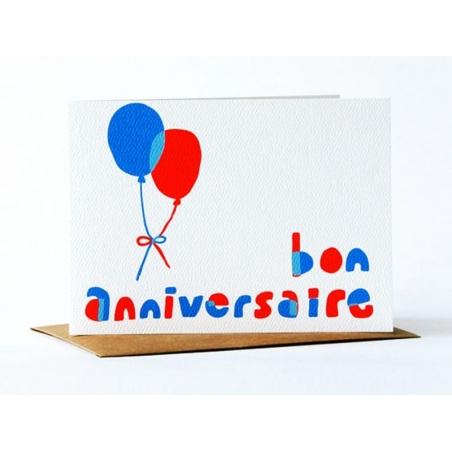 "1 card ""Happy Birthday"" + envelope"
