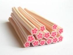 Gänseblümchencane - rosa und weiß