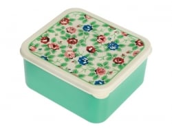 Airtight lunchbox - flowers/vintage design