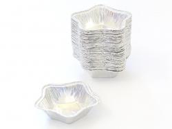 36 Caissettes en aluminium - étoile