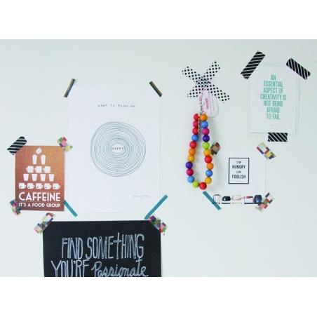 Masking tape trio slim A - Bicolore deco pastel Masking Tape - 2