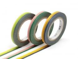 Masking tape trio slim B - Bicolore deco frise Masking Tape - 1