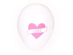 5 ballons My Little Day - Tatouage coeur / love My little day - 1