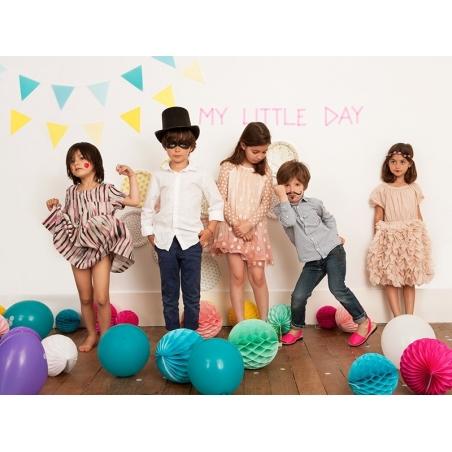 5 ballons My Little Day - Tatouage coeur / love