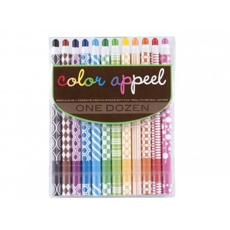 12 coloured pencils with wide leads