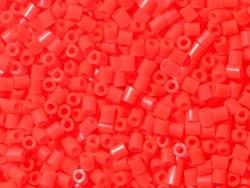 Sachet de 1000 perles HAMA MIDI - rouge fluo translucide