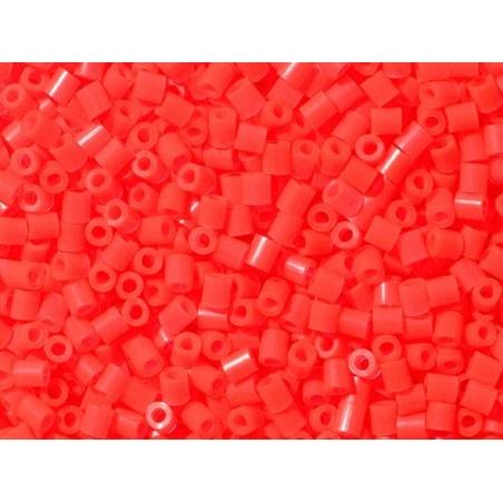 Sachet de 1000 perles HAMA MIDI - rouge fluo translucide 35 Hama - 2
