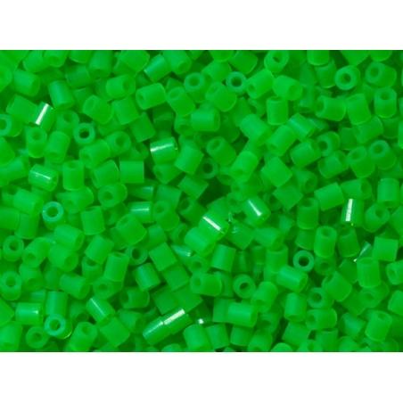 Sachet de 1000 perles HAMA MIDI - vert fluo translucide 37 Hama - 2