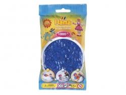 Sachet de 1000 perles HAMA MIDI - bleu marine translucide