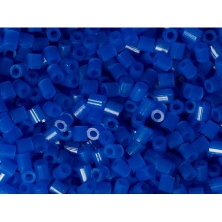 Sachet de 1000 perles HAMA MIDI - bleu marine translucide 36 Hama - 2