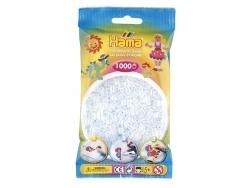 Tüte mit 1.000 HAMA-Midi-Perlen - durchsichtig