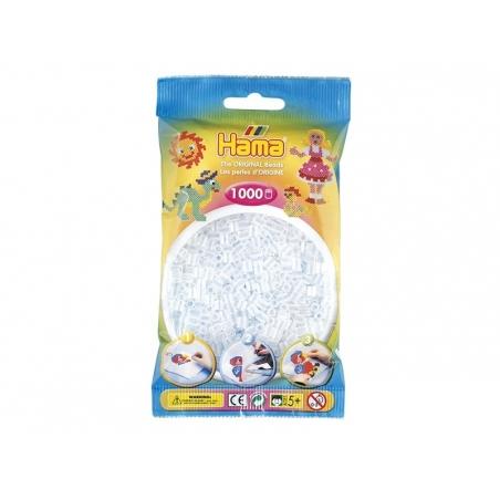 Acheter Sachet de 1000 perles HAMA MIDI - translucide 19 - 3,15€ en ligne sur La Petite Epicerie - 100% Loisirs créatifs