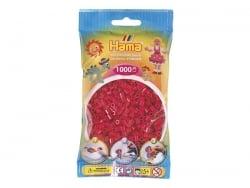 Tüte mit 1.000 HAMA-Midi-Perlen - himbeerrot