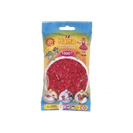 Sachet de 1000 perles HAMA MIDI - rouge framboise 29 Hama - 1