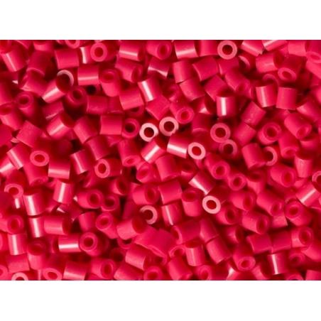 Bag of 1,000 HAMA MIDI beads - raspberry red Hama - 2