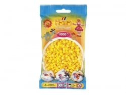 Sachet de 1000 perles HAMA MIDI - jaune