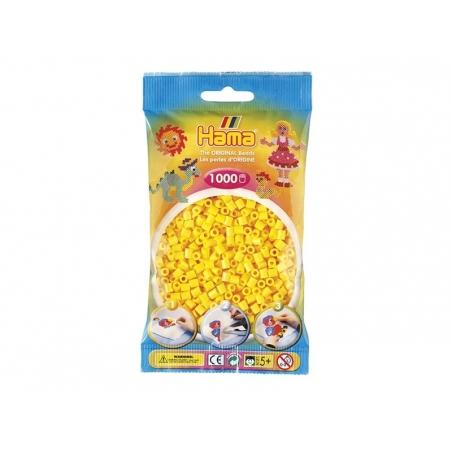 Bag of1,000 HAMA MIDI beads - yellow Hama - 1