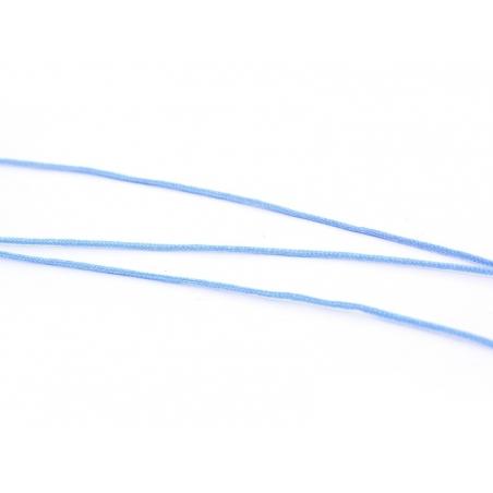 1 m of braided nylon cord, 1 mm - azure