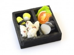 Miniature Japanese Dinner Tray