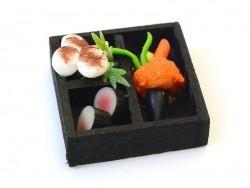 Japanisches Miniaturessenstablett