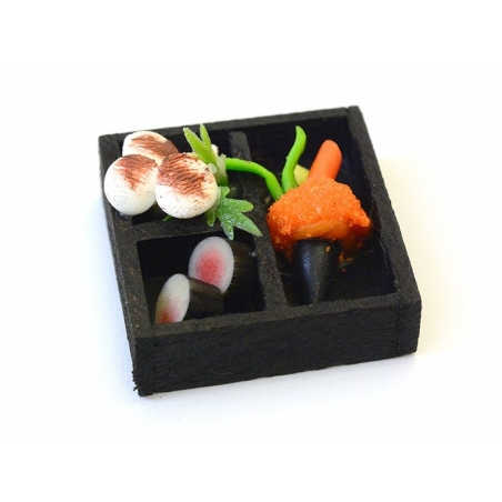 Plateau japonais miniature