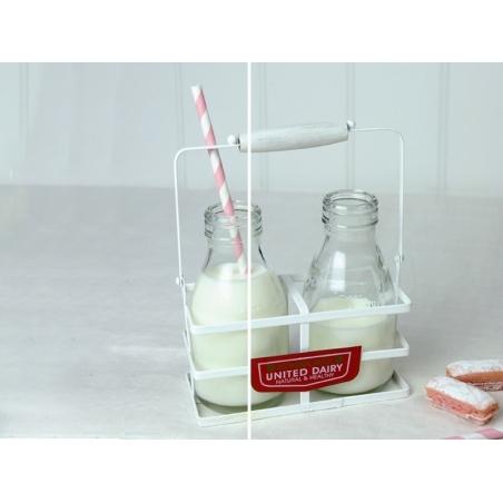 Mini Bouteille de lait en verre - rétro Dotcomgiftshop - 2