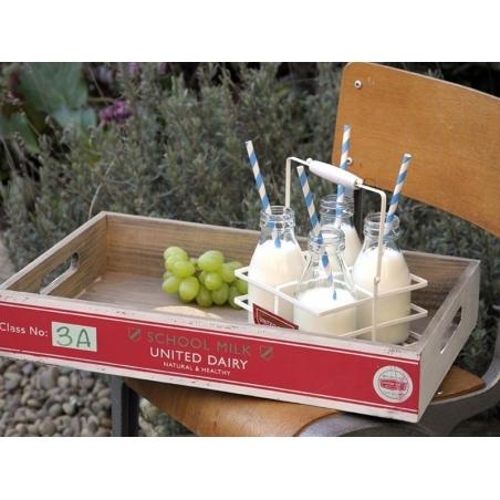 Mini Bouteille de lait en verre - rétro Dotcomgiftshop - 4