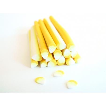 Acheter Cane pétale Jaune et blanc - 0,49€ en ligne sur La Petite Epicerie - Loisirs créatifs