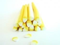 Blütencane - weiß und gelb