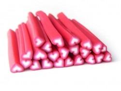 Acheter Cane coeur rose dégradé blanc - 0,99€ en ligne sur La Petite Epicerie - 100% Loisirs créatifs