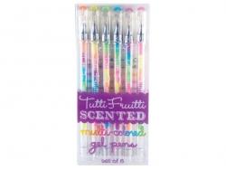 6 parfümierte Gelstifte in mehreren Farben - Tutti Frutti