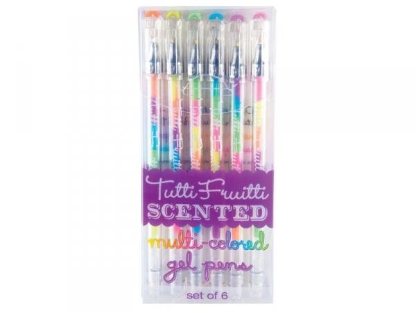 Acheter 6 stylos gel multicolores parfumés Tutti-Fruitti - 8,99€ en ligne sur La Petite Epicerie - Loisirs créatifs