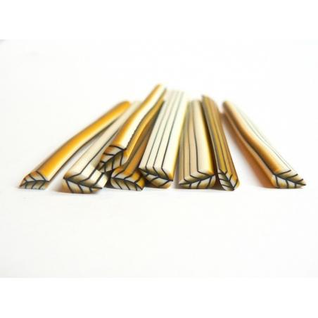 Golden leaf cane