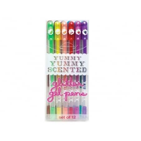"""Acheter 12 stylos gel pailletés et parfumés """"Yummy"""" - 12,99€ en ligne sur La Petite Epicerie - 100% Loisirs créatifs"""