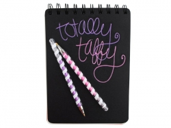 "6 scented gel pens - ""Totally taffy"""